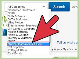 how to buy a guitar on ebay 12 steps with pictures wikihow