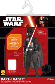 darth vader halloween costume child amazon com star wars child u0027s darth vader costume medium toys