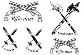 all types of weapon tattoo stencil golfian com