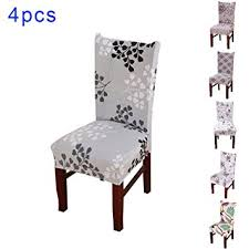 Dining Chair Protective Covers Sundlight 4pcs Spandex Dining Chair Slipcovers Removable Universal