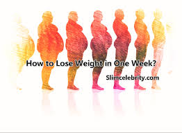 how to lose weight in one week fast www chicagohiphopdocumentary
