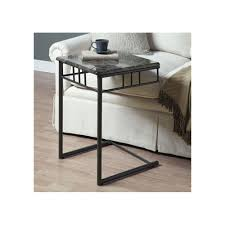 Under Sofa Tables by Amazon Com Monarch Specialties Snack Table Grey Kitchen U0026 Dining