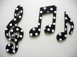 music note home decor black and white home accessories music notes wall decor black and