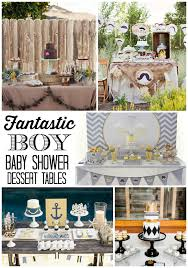 baby shower candy table for fantastic boy baby shower dessert tables design dazzle