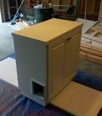 How To Build A Cabinet Box by How To Up Cycle A Hutch Or Other Piece Of Furniture Into A Cabinet