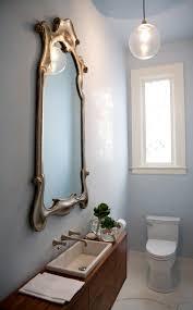Smallest Powder Room - small and elegant powder room design digsdigs