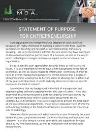 Resume Impact Statement Examples by Writing A Statement Of Purpose For Entrepreneurship
