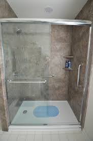 bathroom wondrous brown granite lowes shower tile and white floor