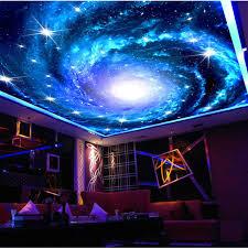 Charming Galaxy Wallpaper 3D Wallpaper Starry Night Ceiling