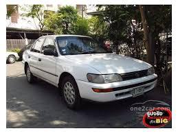 toyota corolla sedan 1993 toyota corolla 1993 1 6 in กร งเทพและปร มณฑล automatic sedan ส ขาว
