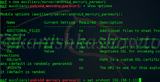 how to hack on android how to hack android with mercury browser parseuri exploit kali