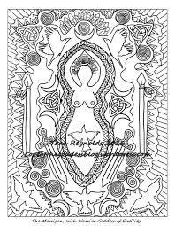 37 coloring pages images mandalas goddess art