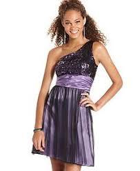hailey logan juniors dress strapless colorblock a line