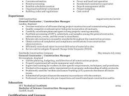 Construction Resume Template Construction Resume Template 15 11 Amazing Exles