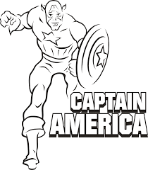 Printable Captain America Coloring Pages Printable Coloring Pages Captain America Coloring Page