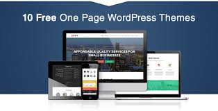 30 best free one page wordpress themes in 2017