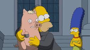 Treehouse Of Horror Xxiv Full Episode Online Pork And Burns Season 28 Episode 11 Simpsons World On Fxx