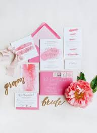 Pink Wedding Invitations 20 Pretty Pink Wedding Invitations That Fit With Any Wedding Theme