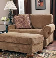 Oversized Loveseat With Ottoman Interesting Oversized Chairs With Ottoman Verambelles