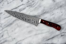 Handmade Kitchen Knives Uk Damascus Kitchen Knife Damascus Chef Knife Review Setbi Club