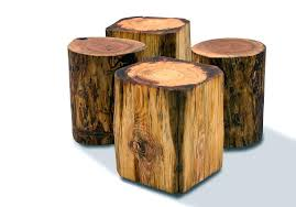 tree trunk end table trunk end tables sceper me