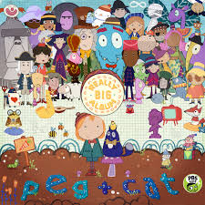 cat photo album peg cat announce a really big album out with the kids