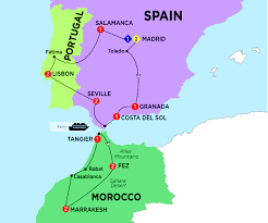 Portugal Spain Map by Highlights Of Spain Morocco And Portugal Summer 2017 By Trafalgar