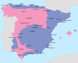 Cordoba Spain Map by The Spanish Civil War The Opening Salvo Spainthenandnow