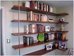 interior storages white floating corner shelves bookshelves ideas