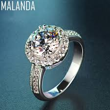 rings crystal swarovski images Malanda brand new fashion clear crystal from swarovski zircon jpg