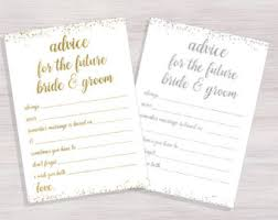 advice to the and groom cards advice for the and groom etsy uk