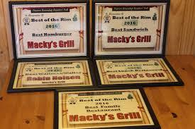 mackys grill payson arizona casual western dining amazing steaks