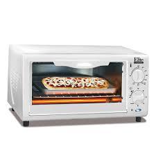 elite cuisine toaster cuisine 4 slice toaster oven broiler eka 9210xw