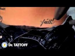 tattoo removal faith tattoo erased from hip with laser tattoo