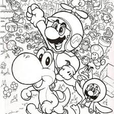 super mario brothers wearing bee costume coloring color luna