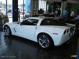 pearl white corvette arctic white 60th anniversary pearl silver blue stripes 2013
