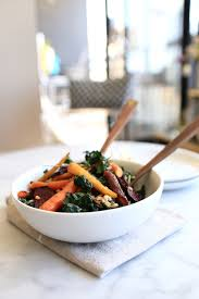 Recipe For Roasted Root Vegetables - healthy roasted root vegetable kale salad recipe my style vita