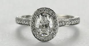 vintage engagement rings ring a beautiful cushion cut vintage