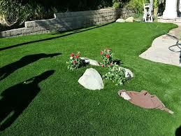 grass carpet port costa california landscape rock front yard