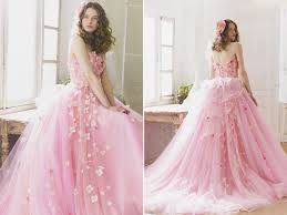 bridal wear breathtaking dresses with 3d flowers appliques fullonwedding
