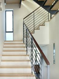 Staircase Handrail Design Modern Handrail Stairs Railing Designs In Iron Painted Staircases