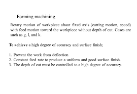 turning objectives of machine tools lathe ppt video online