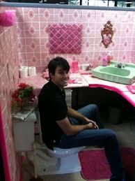 bathroom prank ideas pink wrapped bathroom prank practical jokes pranks pinterest