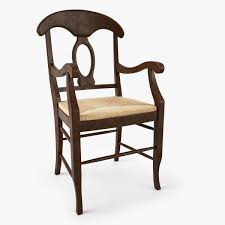 Pottery Barn Similar Furniture 3d Model Pottery Barn Napoleon Rush Seat Chair Cgtrader