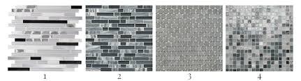 types of backsplashes for kitchen choosing kitchen backsplash tile just a and