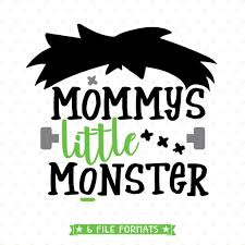 Monster Halloween by Mommys Little Monster Halloween Svg File Cricut Silhouettes And