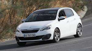 peugeot 2014 2014 peugeot 308 gti spied for the first time