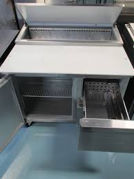continental pizza prep table cpa43 refrigerated counter pizza prep table continental