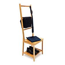 porte v黎ements chambre relaxdays chaise porte serviettes porte vêtements bambou étagère