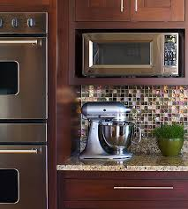 Kitchen Explore Your Kitchen Appliance by How To Integrate A Microwave Work Surface Kitchens And Shelves